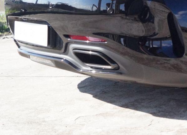 Endschalldämpfer-Anlage AMG-GT