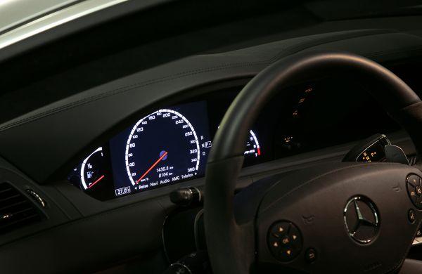 Tachometererweiterung 320 km/h S-Klasse W221