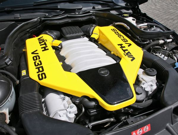 Leistungssteigerung,Tuning-Kit mit Vmax V63 SUPERCHARGED SLS AMG