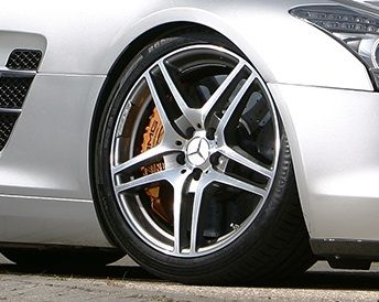 Hochleistungsbremsbeläge SLS AMG Hinterachse