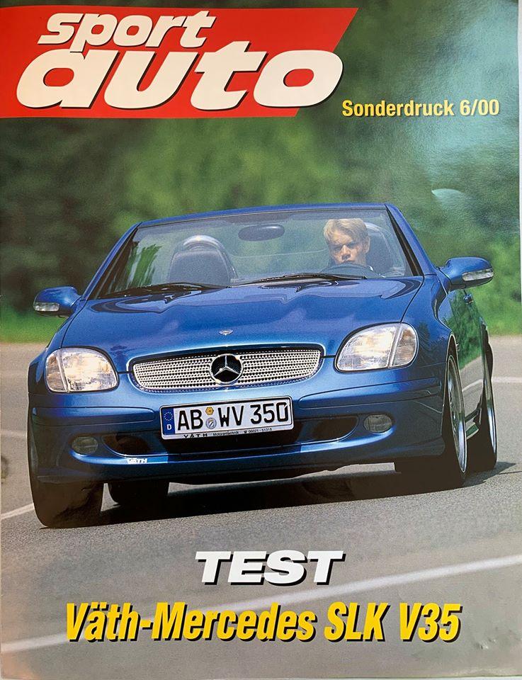 VÄTH Mercedes SLK V35 im Test