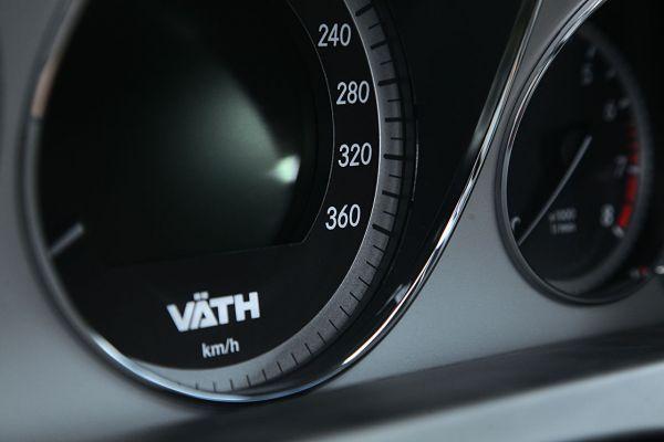 Tachometererweiterung 360 km/h GL-Klasse