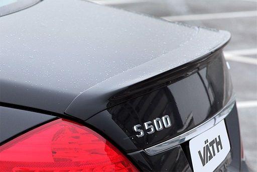 Carbon Kofferraum-Spoilerlippe S-Klasse W221