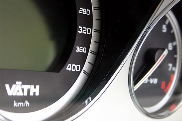 Tachometererweiterung 400 km/h AMG-GT C 190