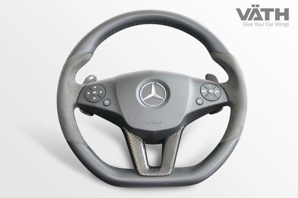 Carbon V-Einleger im Lenkrad SLS AMG